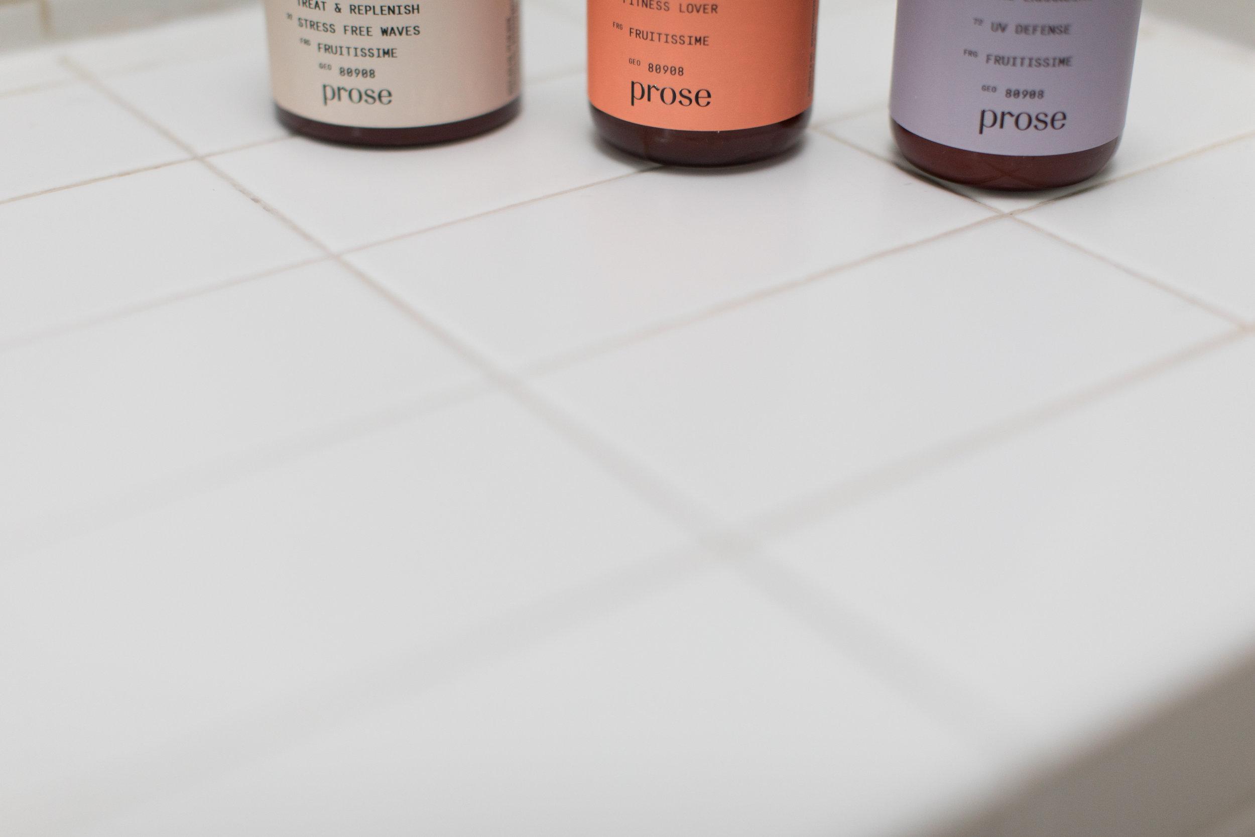 Prose Shampoo + Conditioner - NY, NY