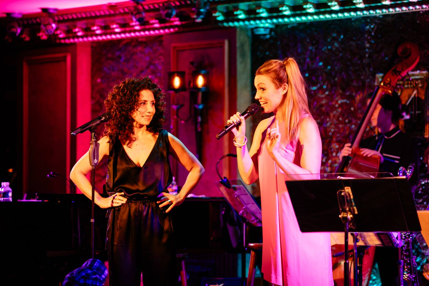 Ashley Kate appeared in Jamie Leonhart's ESTUARY in September of 2017 at Feinstein's /54 Below.