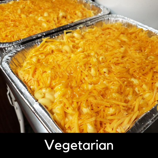 Pan of Mac N' Cheese - Cavatappi macaroni noodles with a creamy cheese sauce and topped with shredded cheddar.3 Pounds (serves 12): 34.95