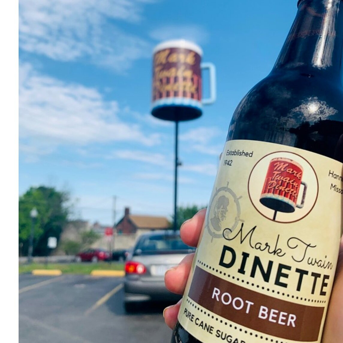 Mark Twain Dinette Homemade Root Beer - 4-Pack of Bottles: 7.50Case of 24 Bottles: 35.00Gallon: 5.951/2 Gallon: 4.49Contact us for Keg Pricing. kennabogue@marktwaindinette.com