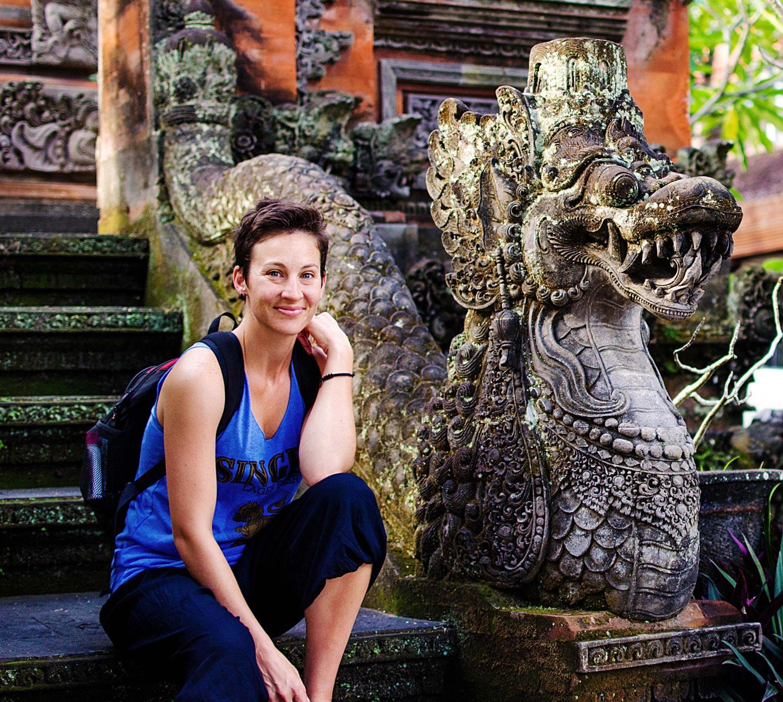Me in Ubud, Bali