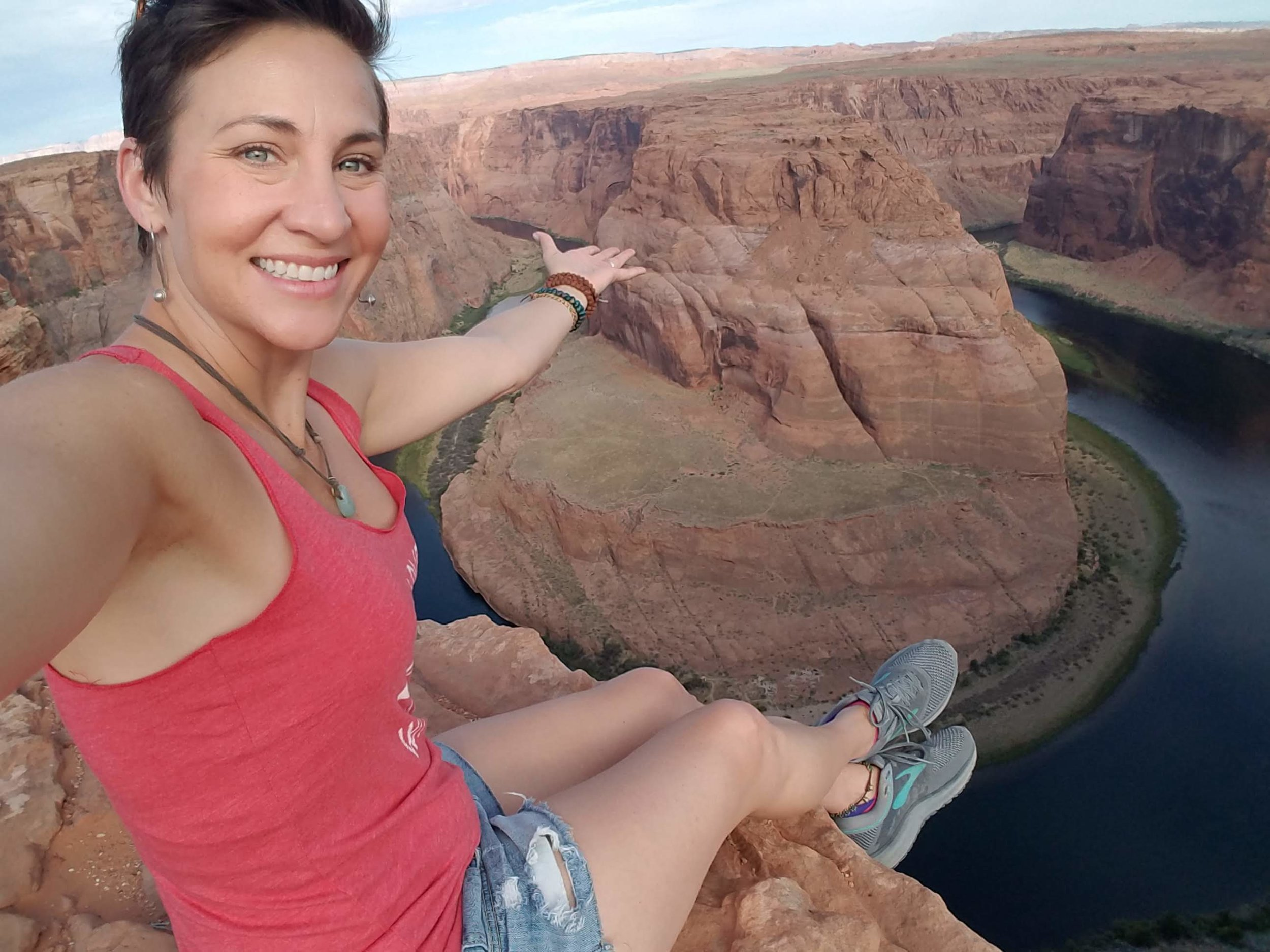 Edge of Horseshoe Bend Arizona