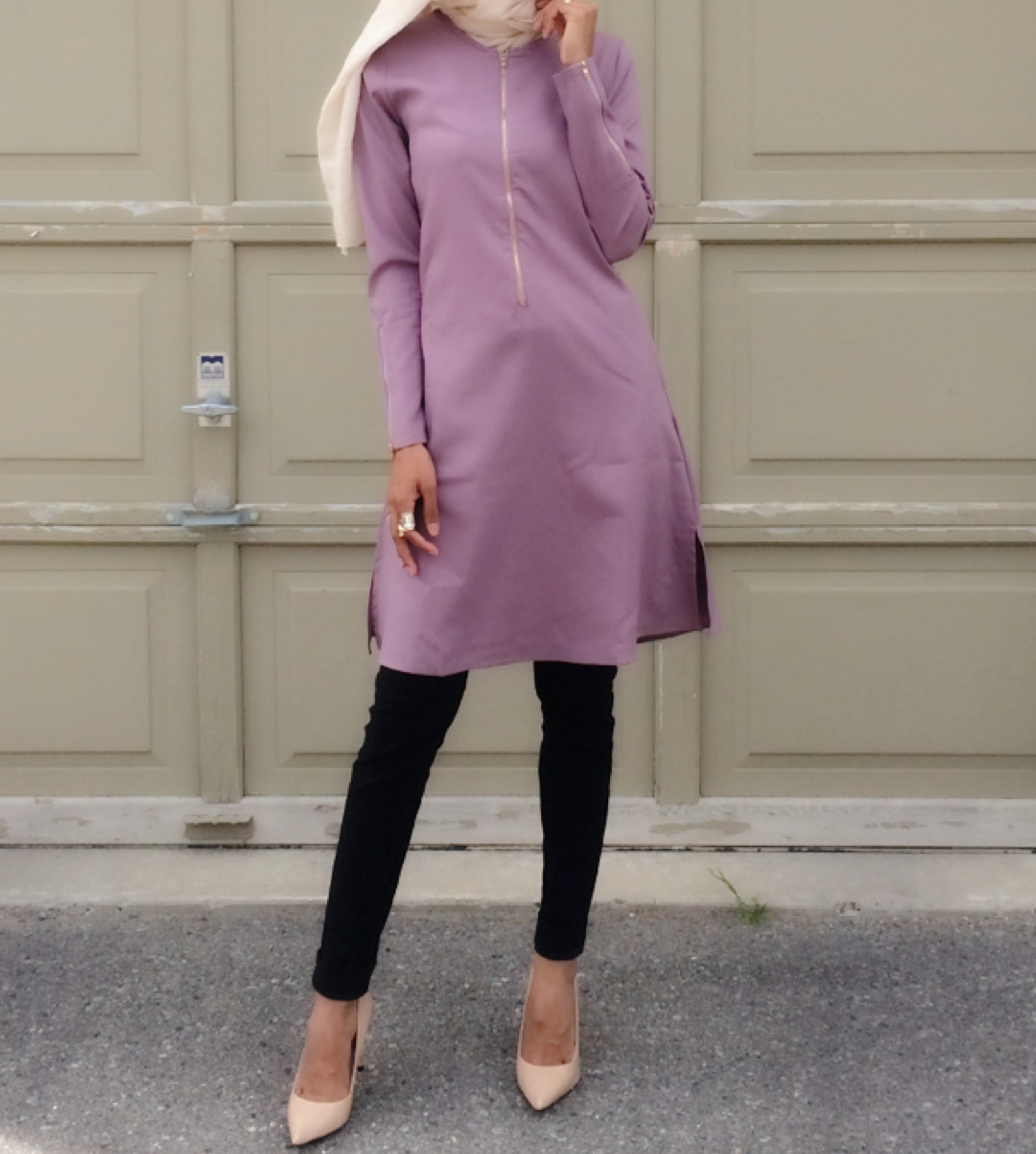 Tunic is available in a variety of colours for the fall.  Click here to shop.