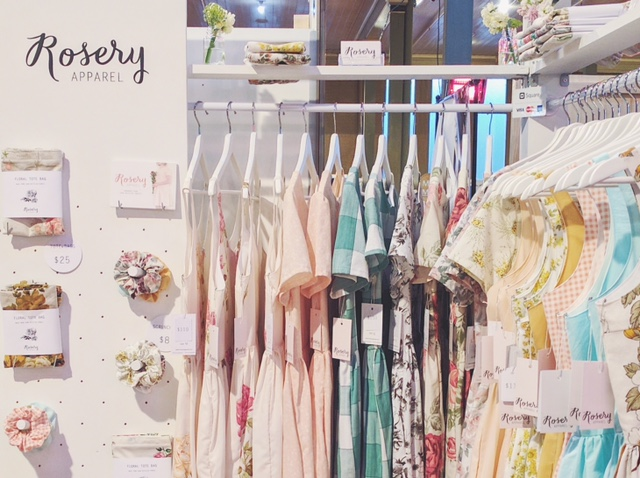 rosery apparel finders keepers stall