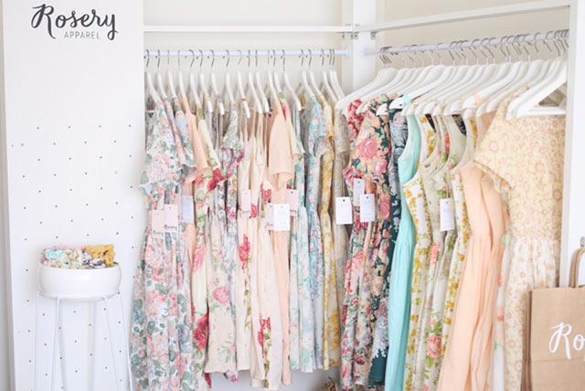 rosery apparel mini retail store