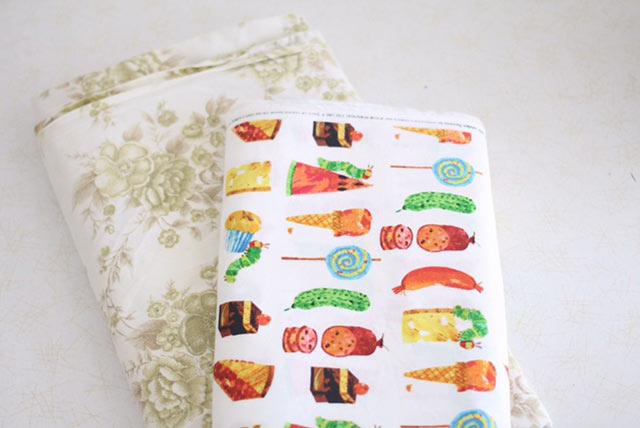 the hungry caterpillar fabric