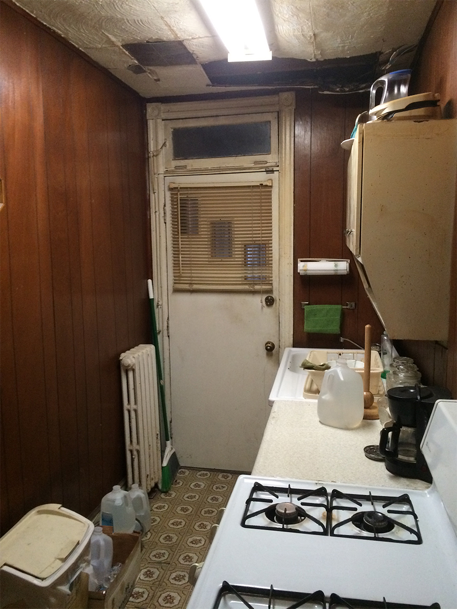 Existing kitchern at time of purchase