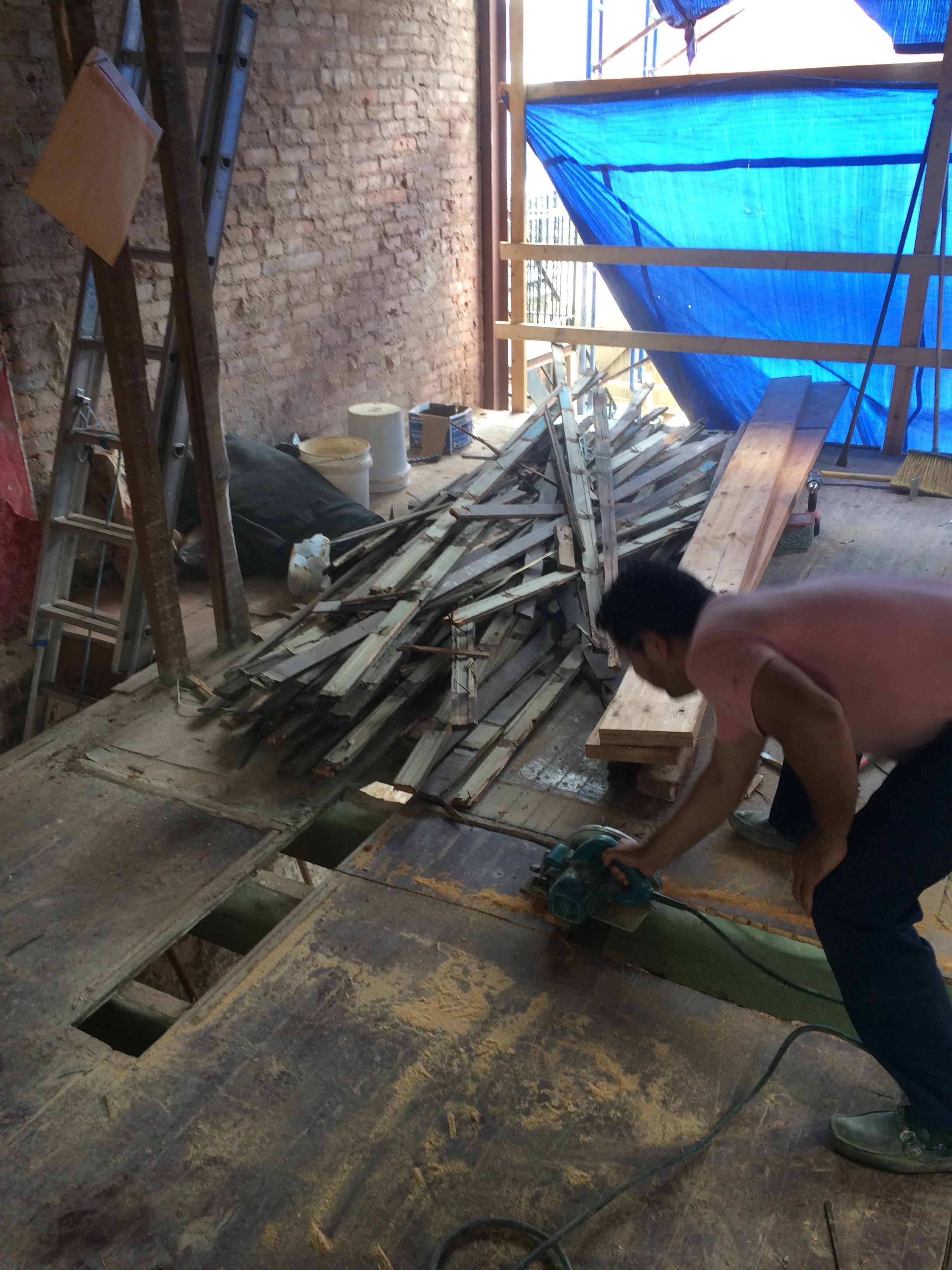 DC Rowhouse Renovation - Strengthening the Original - Part 2: Floor
