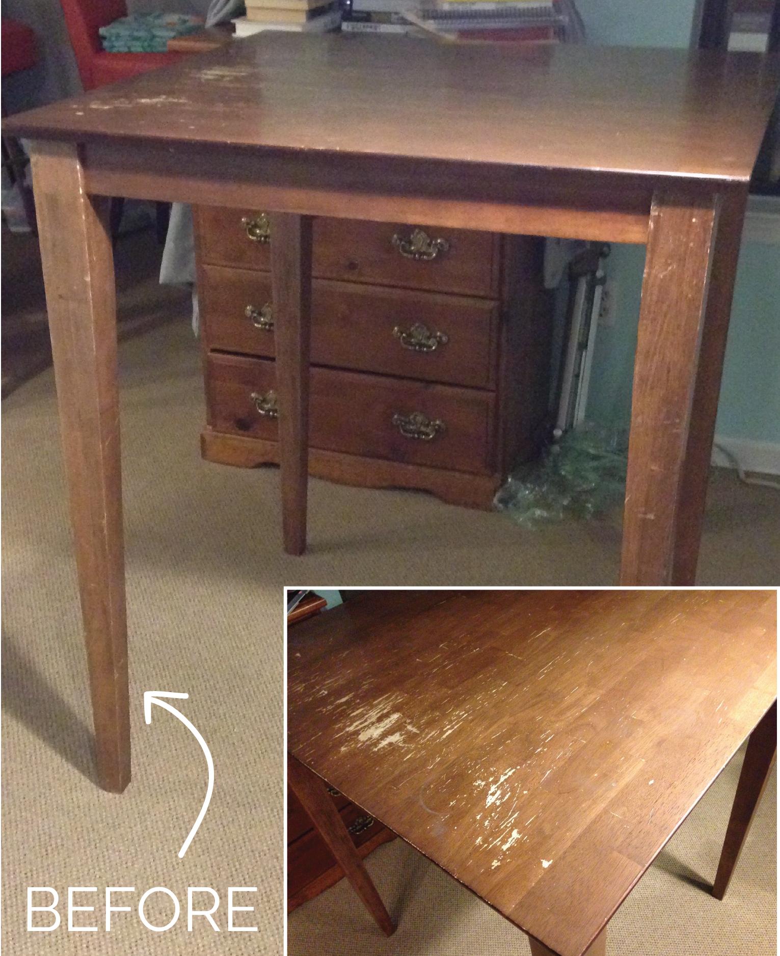 DIY table upgrade