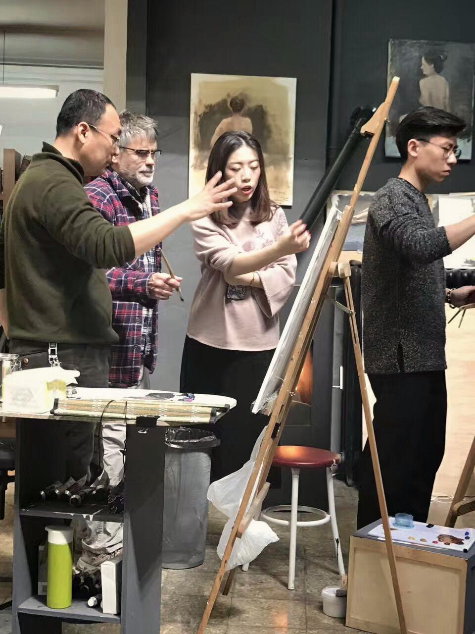 Master workshop with Golucho, Madrid 2017