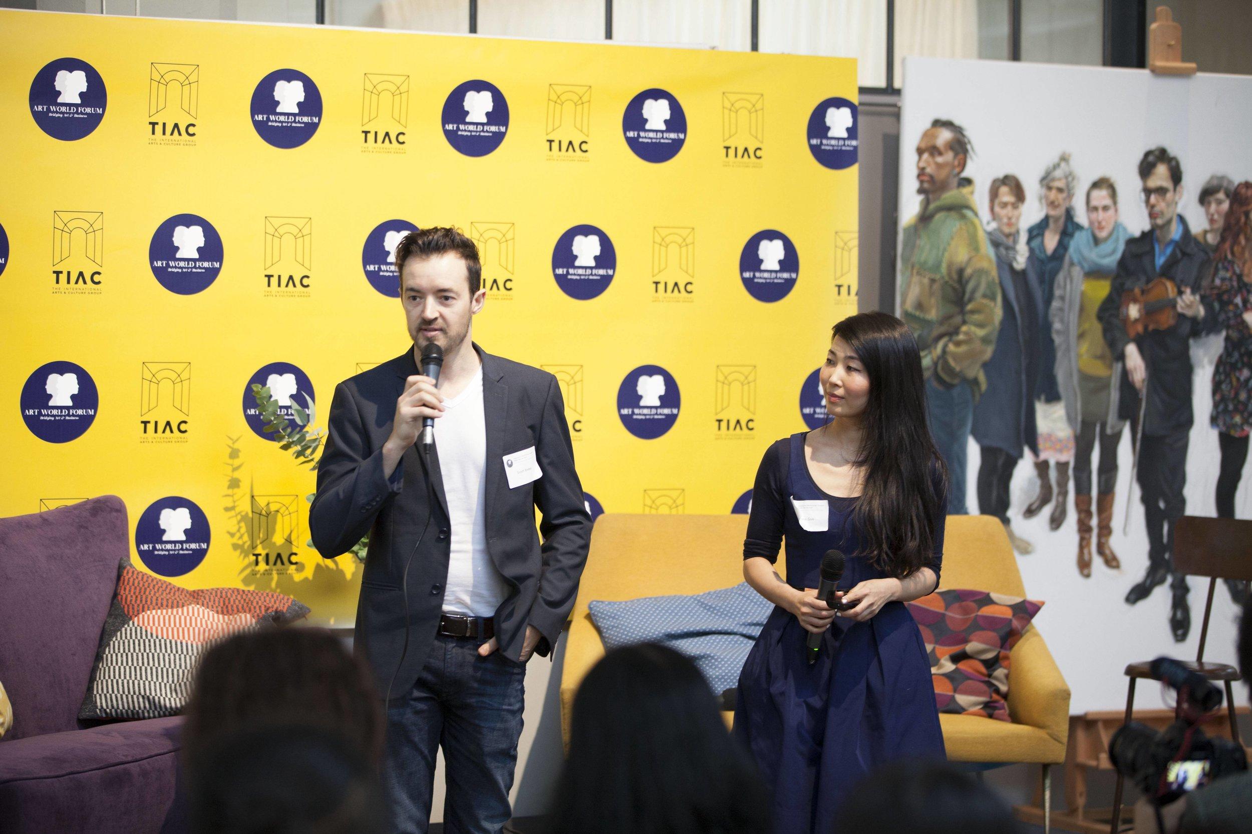 Scott Breton & Lynn Guo, Co-Founders of TIAC