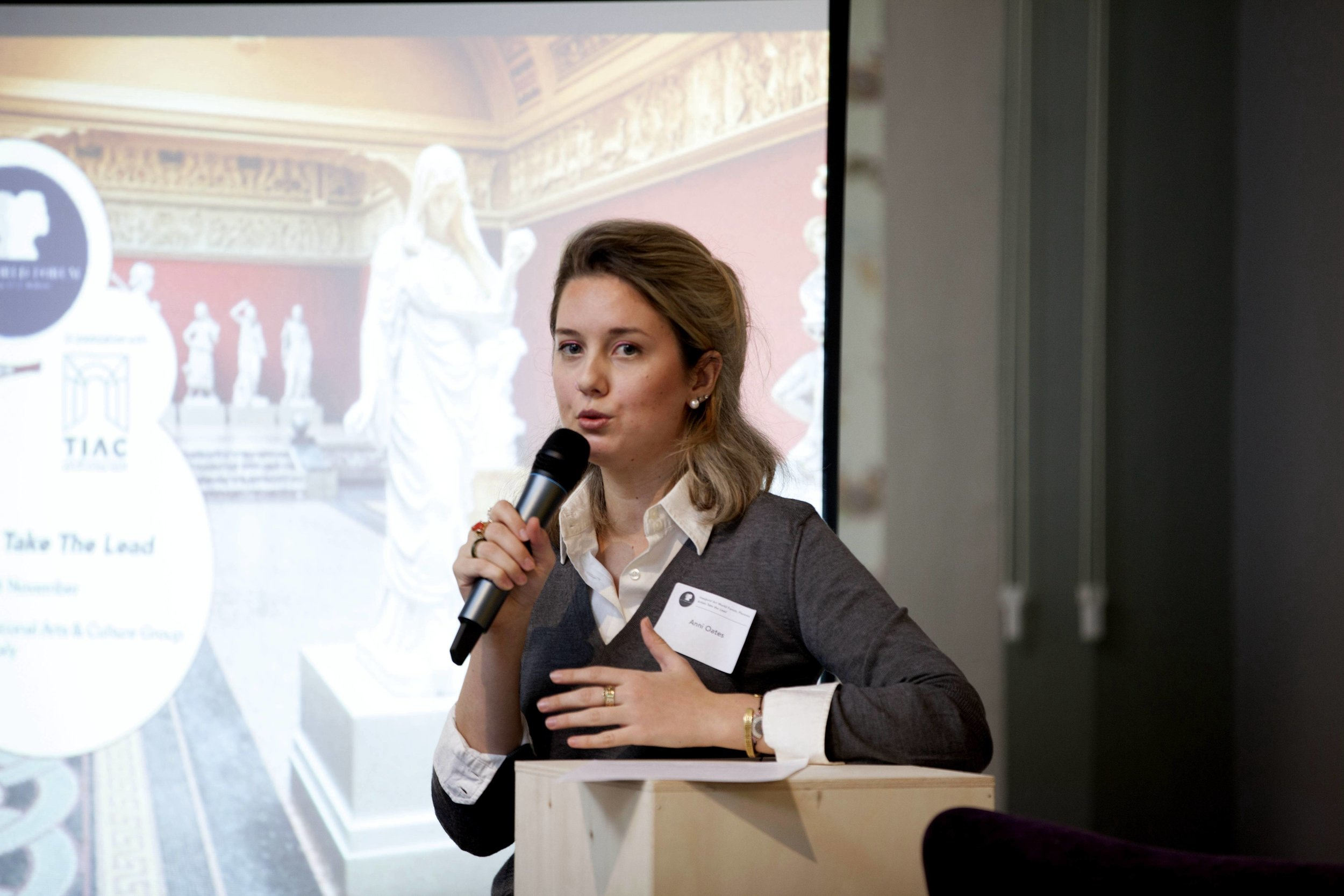 Anni Oates, Co-Founder of Art World Forum