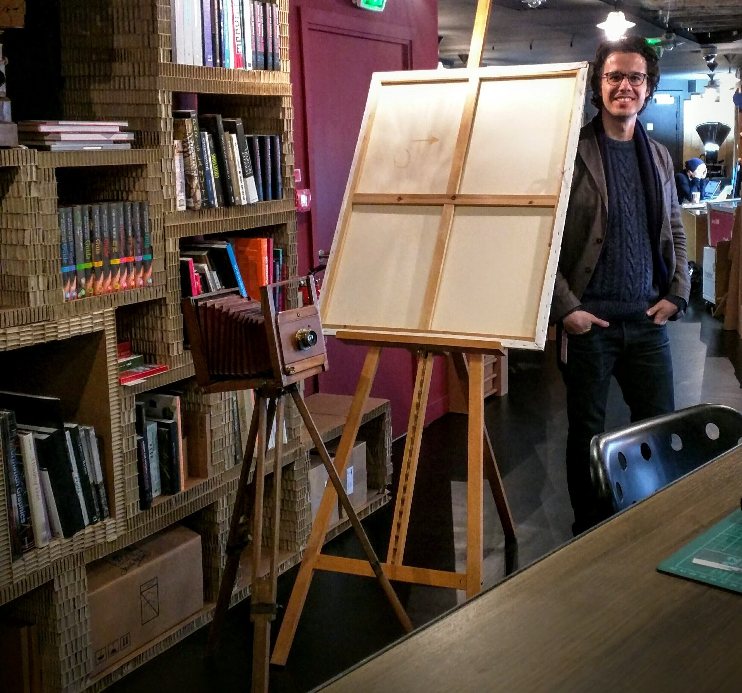 Art, Wisdom & Technology - Miguel Mayher hanging out as guest at Google Cultural Insitute's The Lab in Paris.jpg