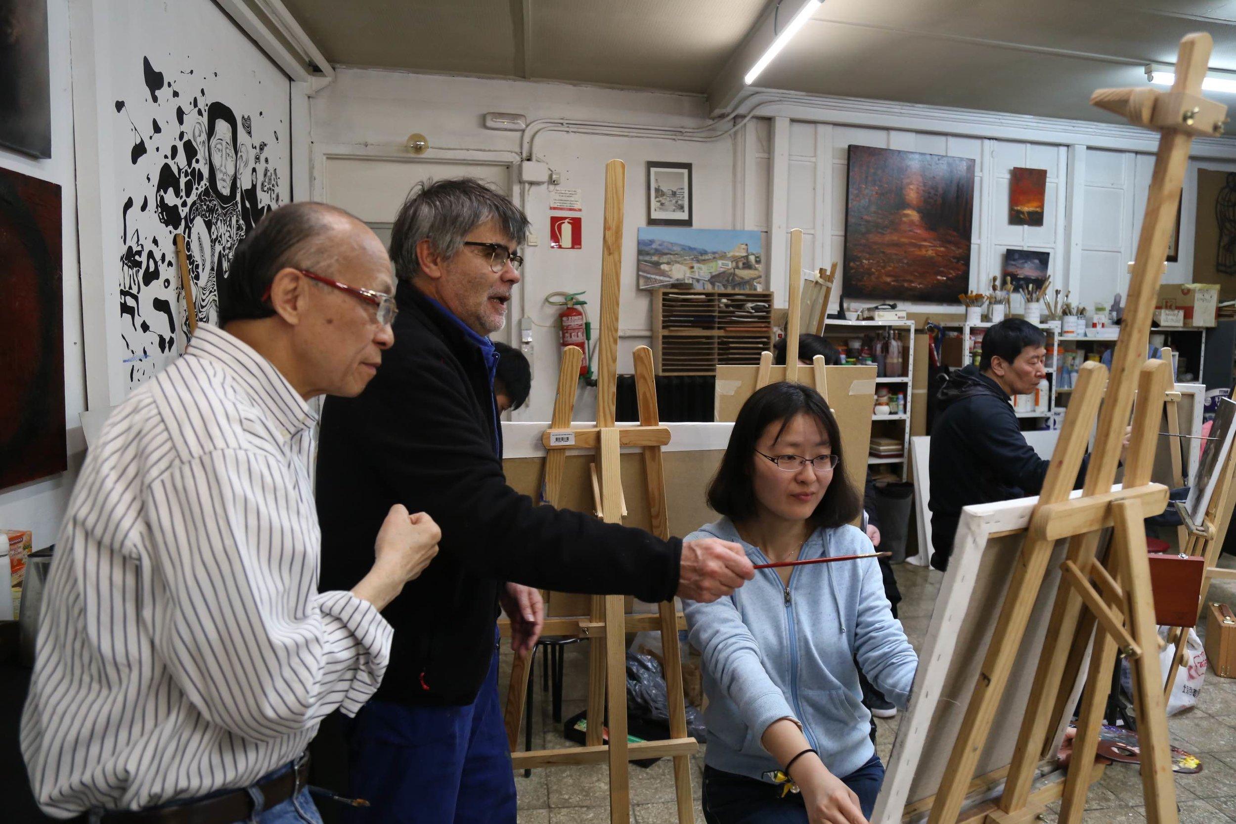 Golucho 2018 Workshop 格鲁仇指导艺术家作画19.jpg