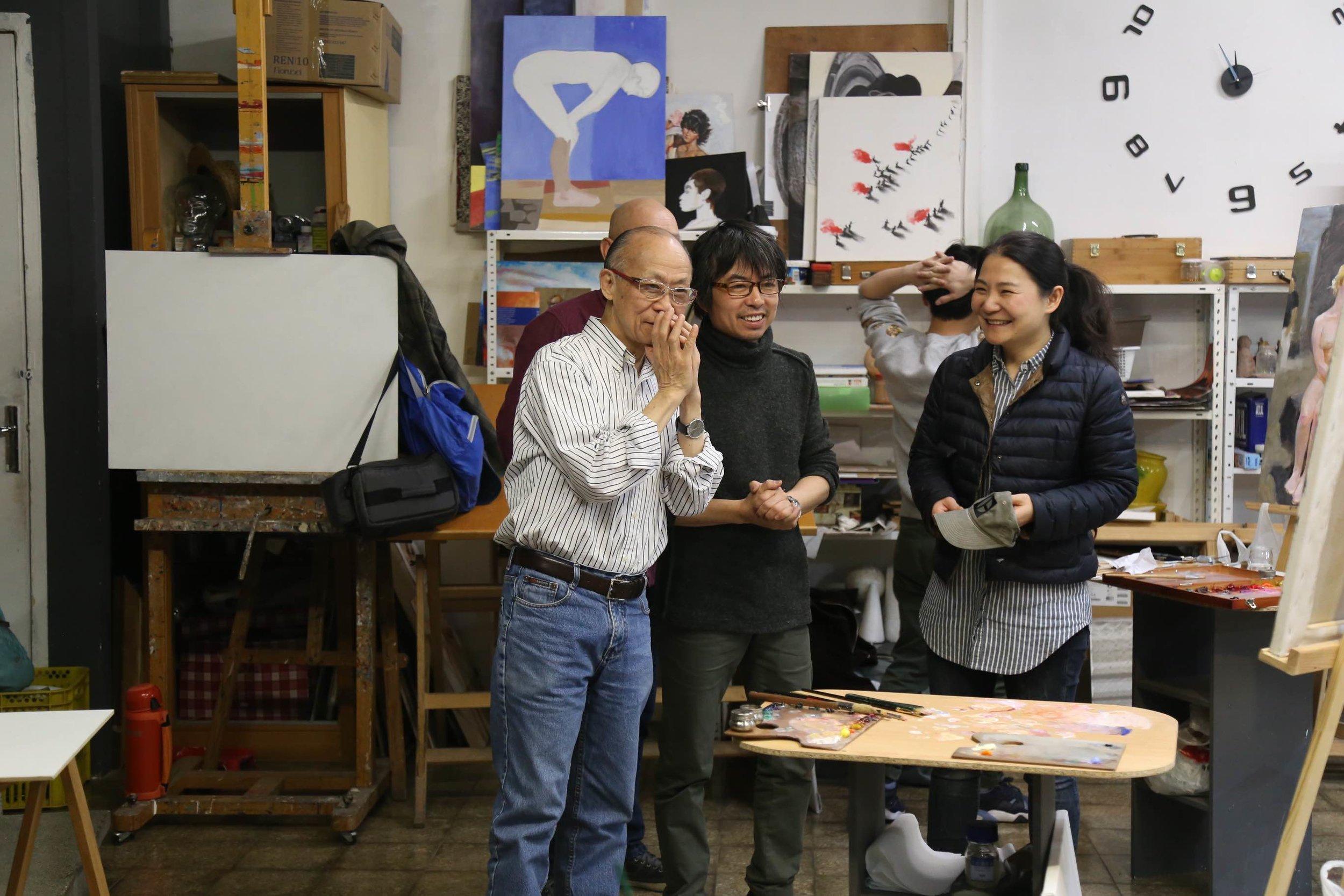 Golucho 2018 Workshop 艺术家作画交流2.jpg