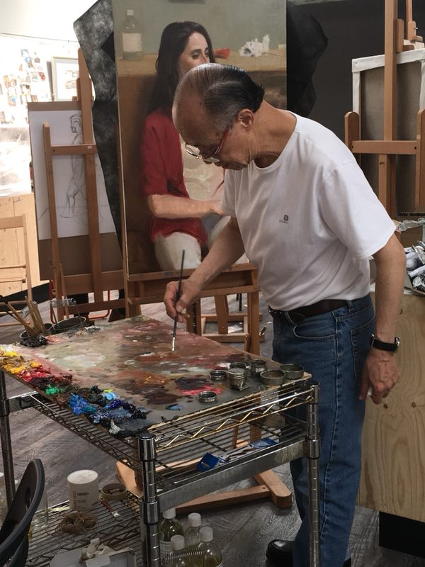 Xu Mangyao TIAC artist residency studio.JPG