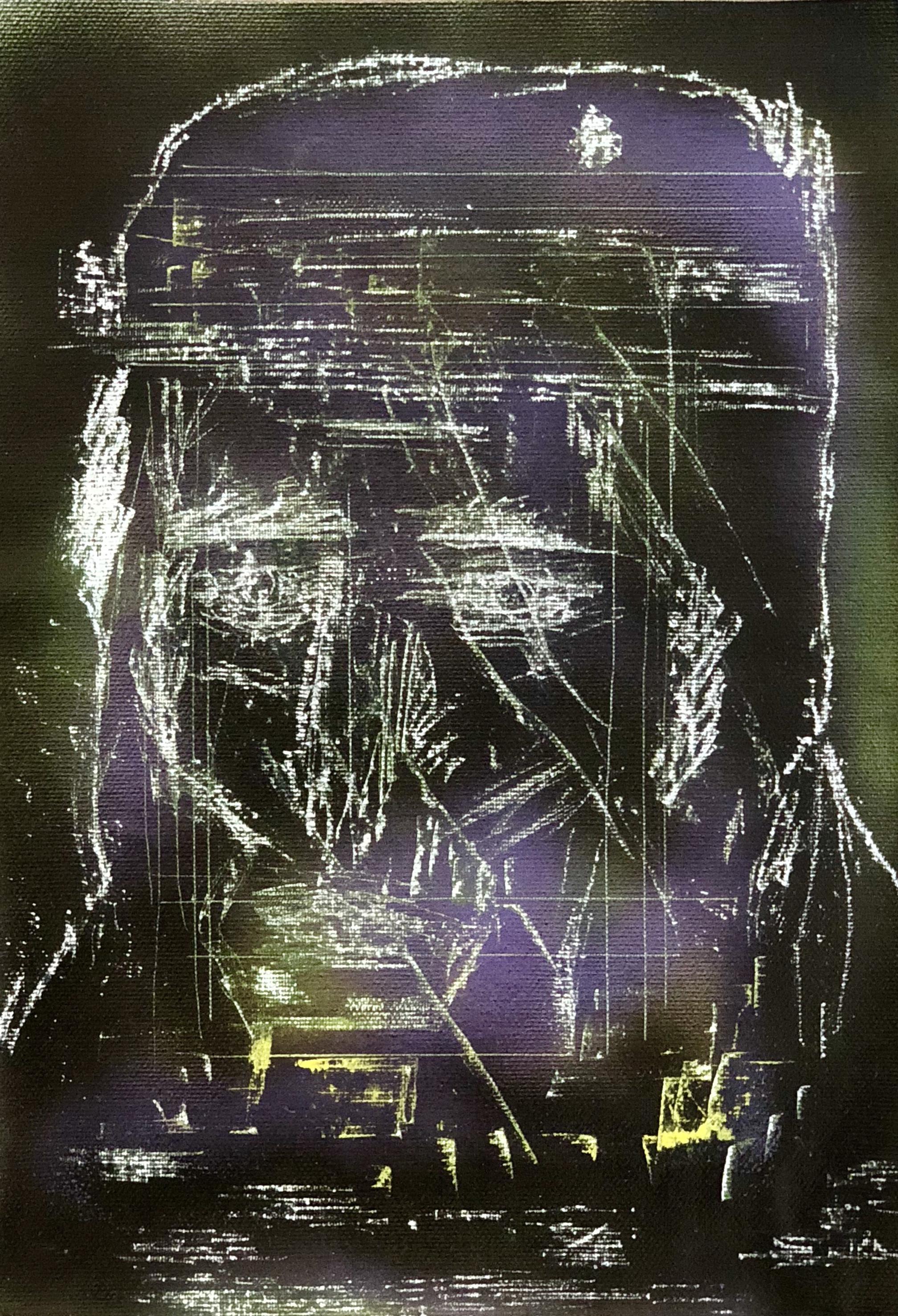 3) Marco Biscardi - Savage - 2018 - 24x33 cm - Acrylic on canvas.jpg