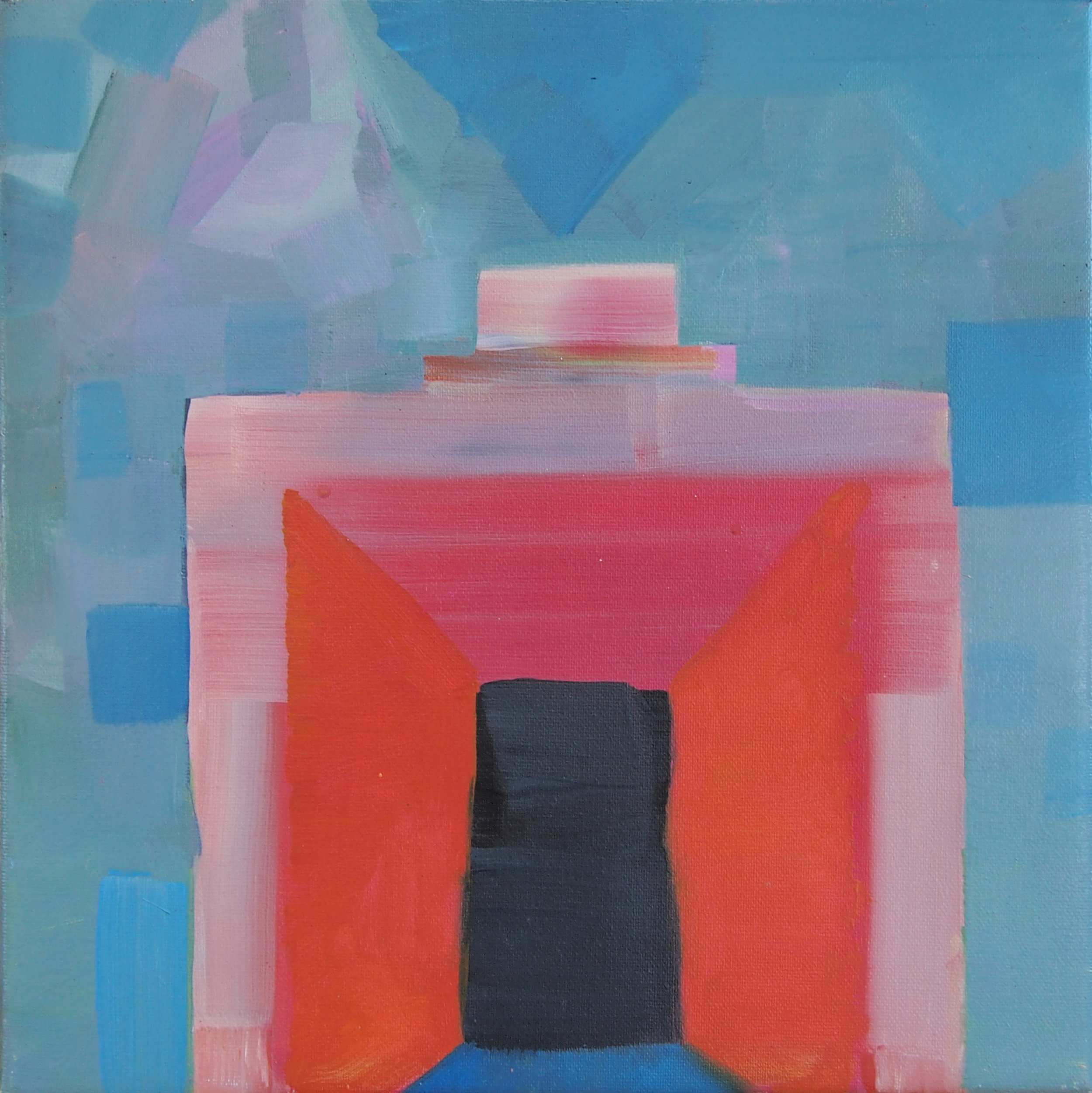 Mark Jeffreys - Portal - 2013 - oil on linen - 30x30cm.jpg