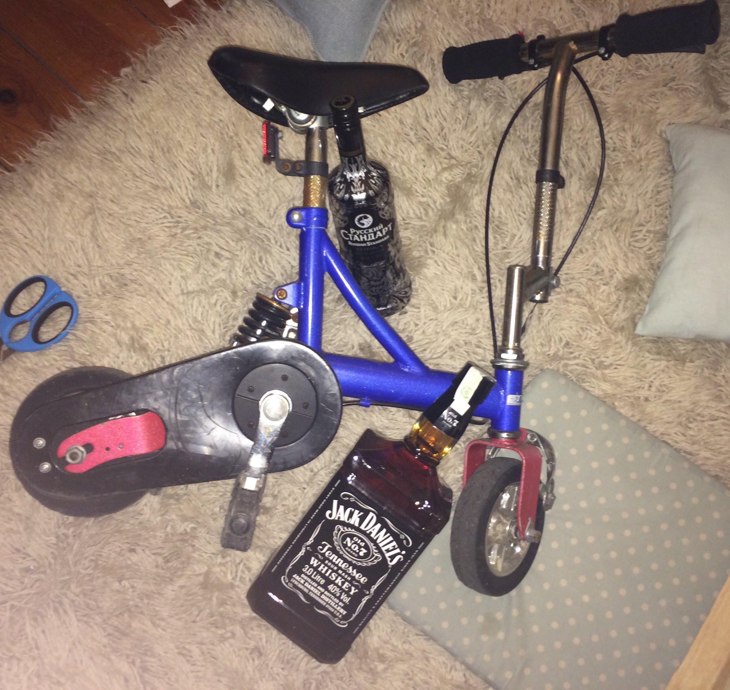 The minibike