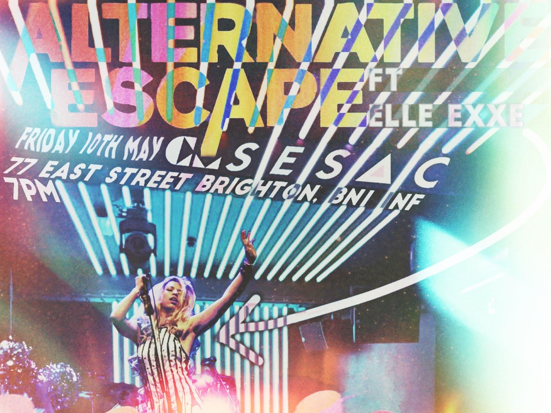 Brighton's Alternative Escape festival on Friday 10th May 2019 at BauWow Door 77
