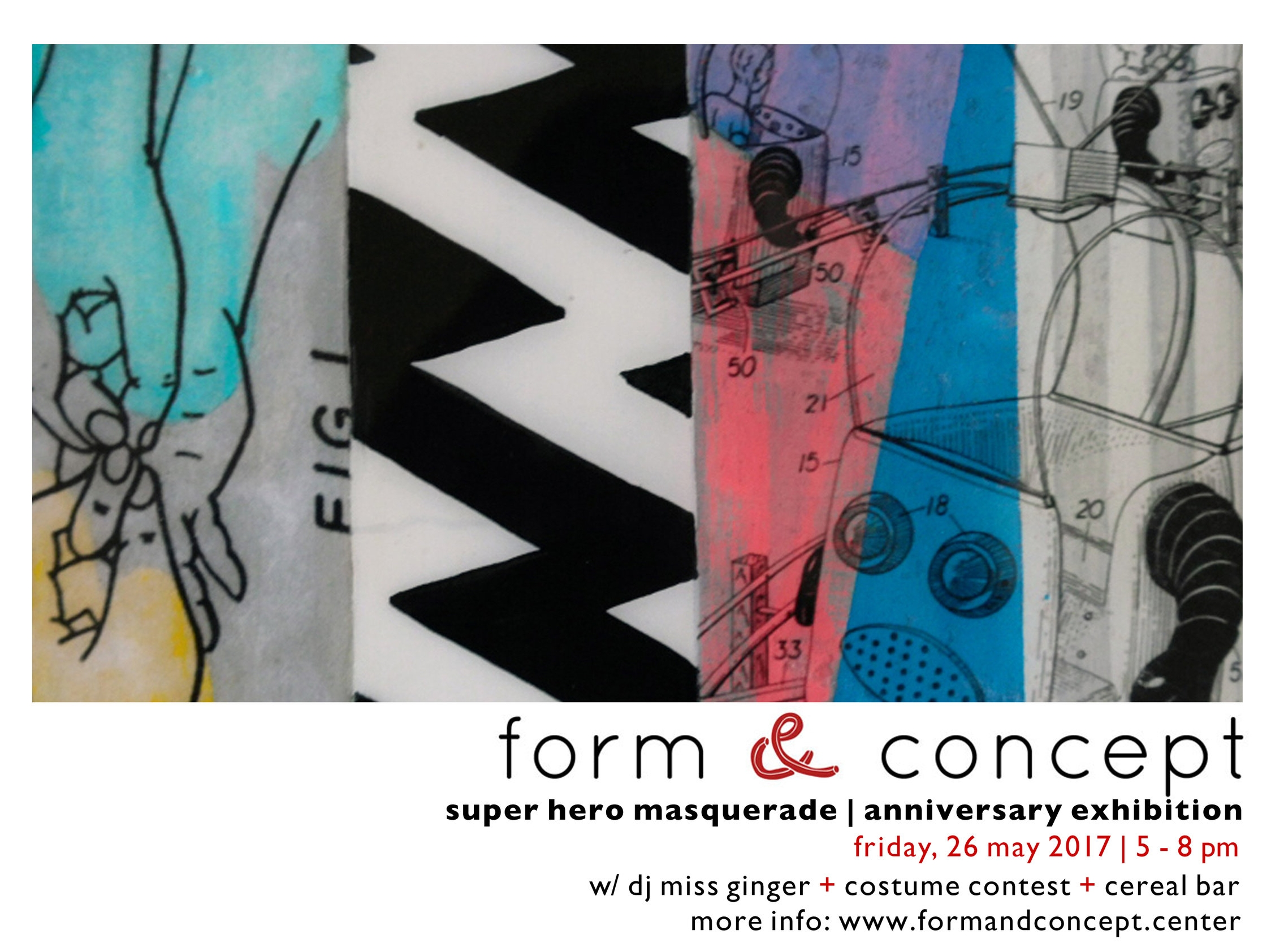 for more information, please visit:  form & concept gallery