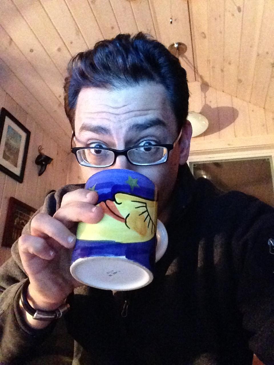 Paul Durham coffee time