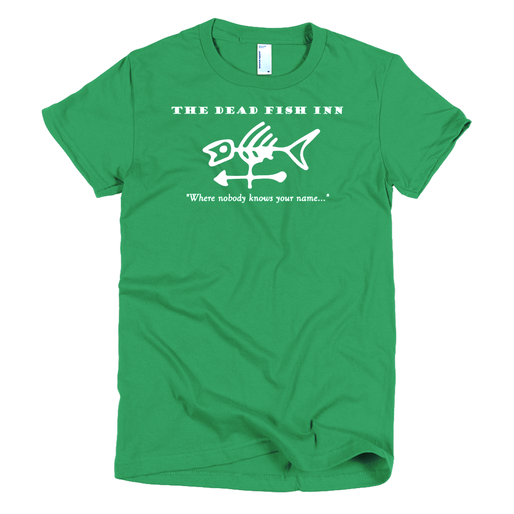 Dead Fish Inn T-shirt Kelly Green