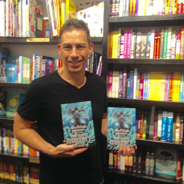 #thelastgargoyle at awesome bookstores in far-flung places...@booksandbooks in Miami Beach