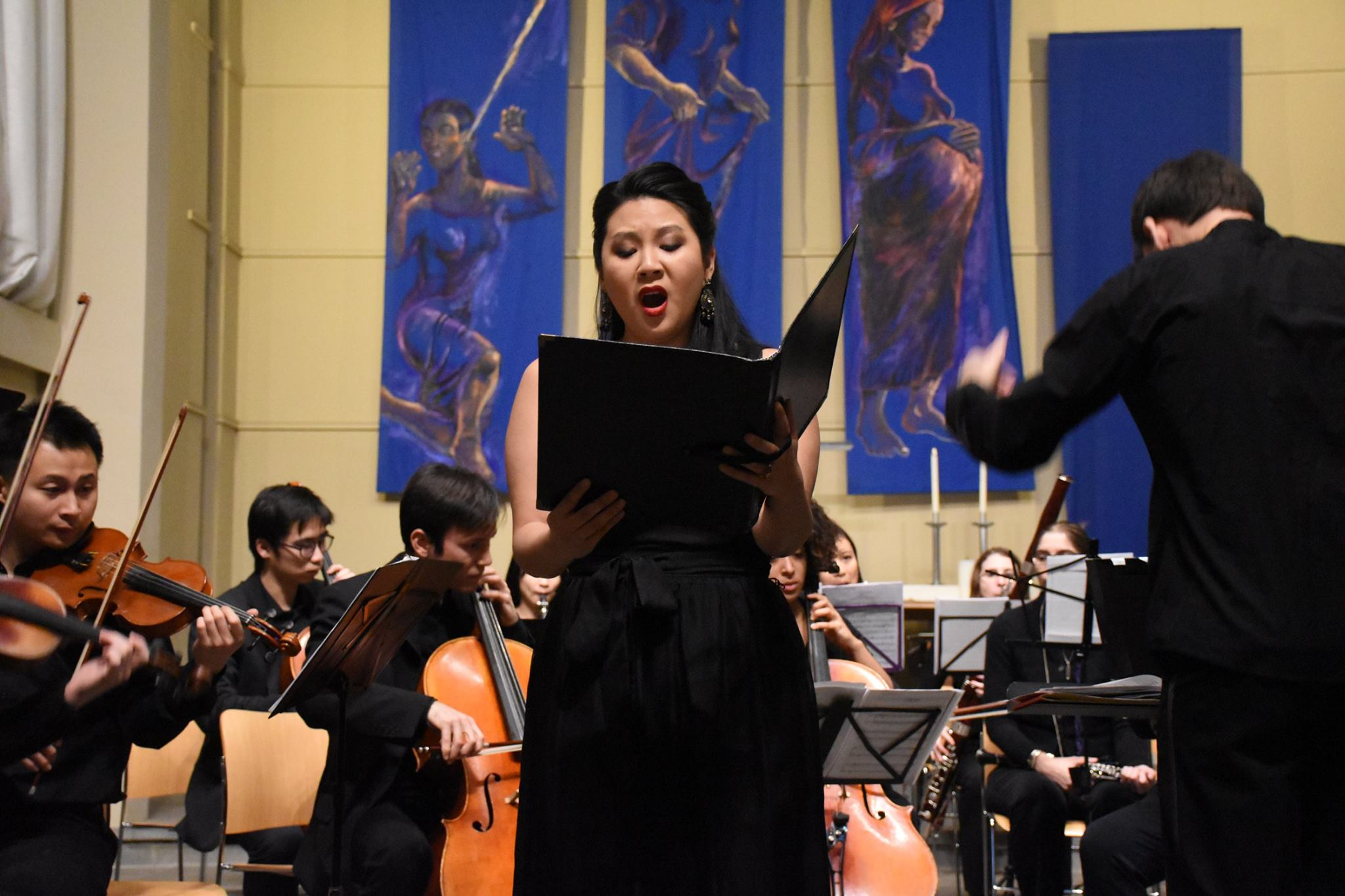 Fanny Mendelssohn Hensel's  Lobgesang  with the DuBois Orchestra at Harvard University. Kai Johannes Polzhofer, conductor.
