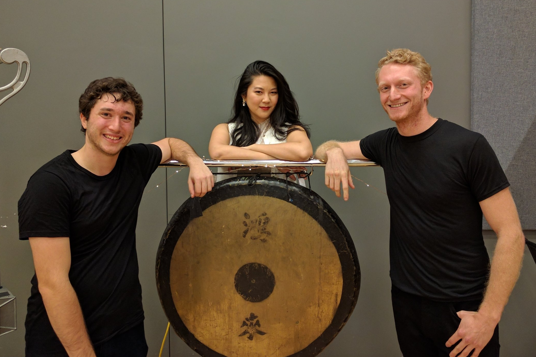 Animus 2  by Jacob Druckman with percussionists Noah Rosen and Travis Newman, Boston Conservatory.