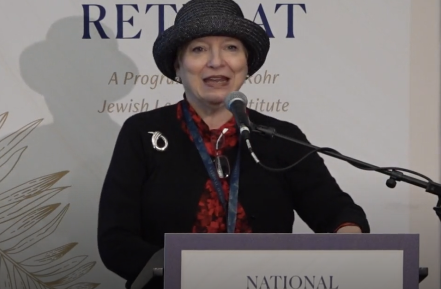 "What is the secret of the ""Eitz Chaim"" prayer that is recited at the conclusion of each Torah reading? JEIC Managing Director Sharon Freundel facilitated  ""The Tree of Life""  session at the 2019 National Jewish Retreat."