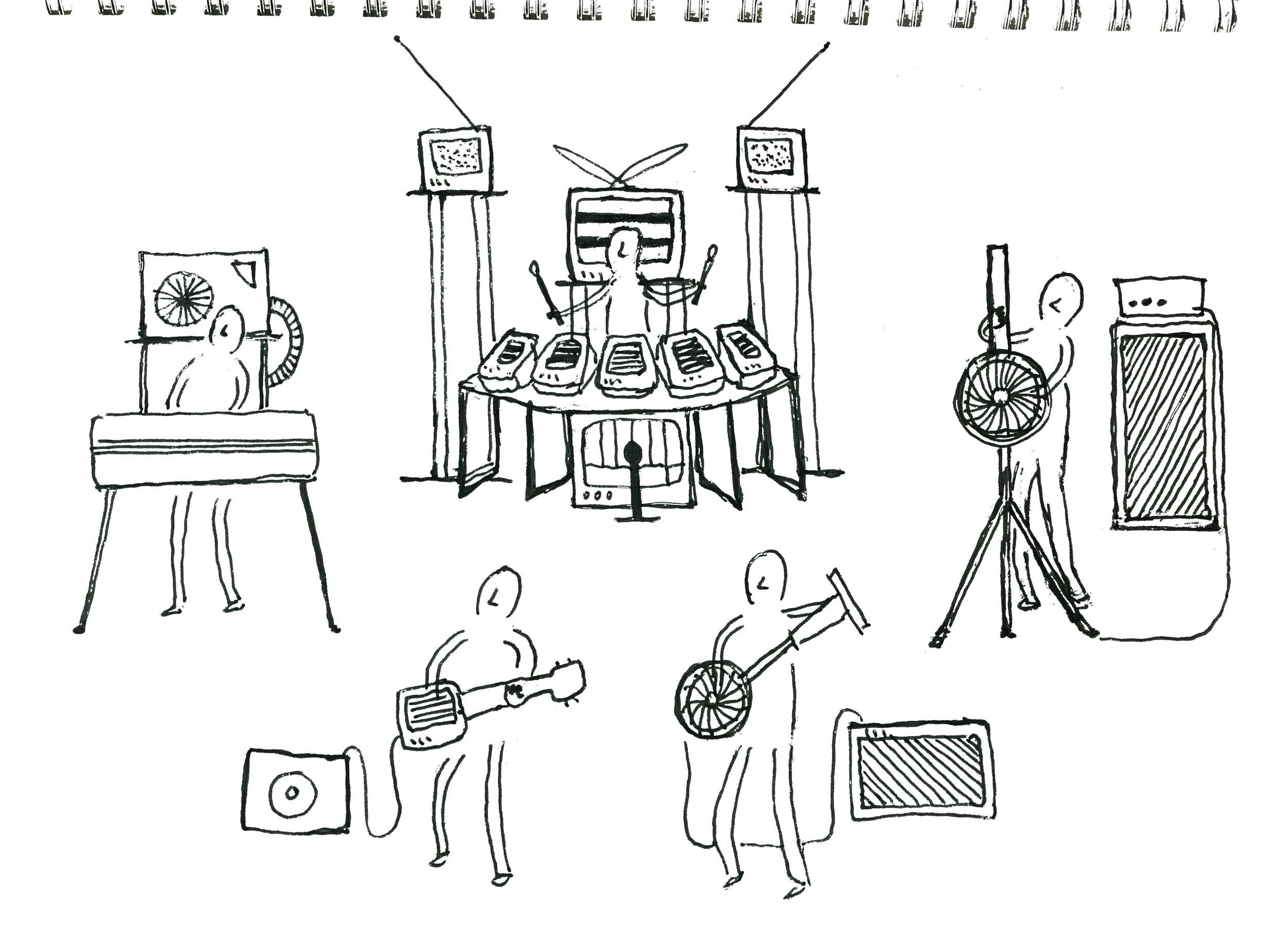 Sketch by Ei Wada