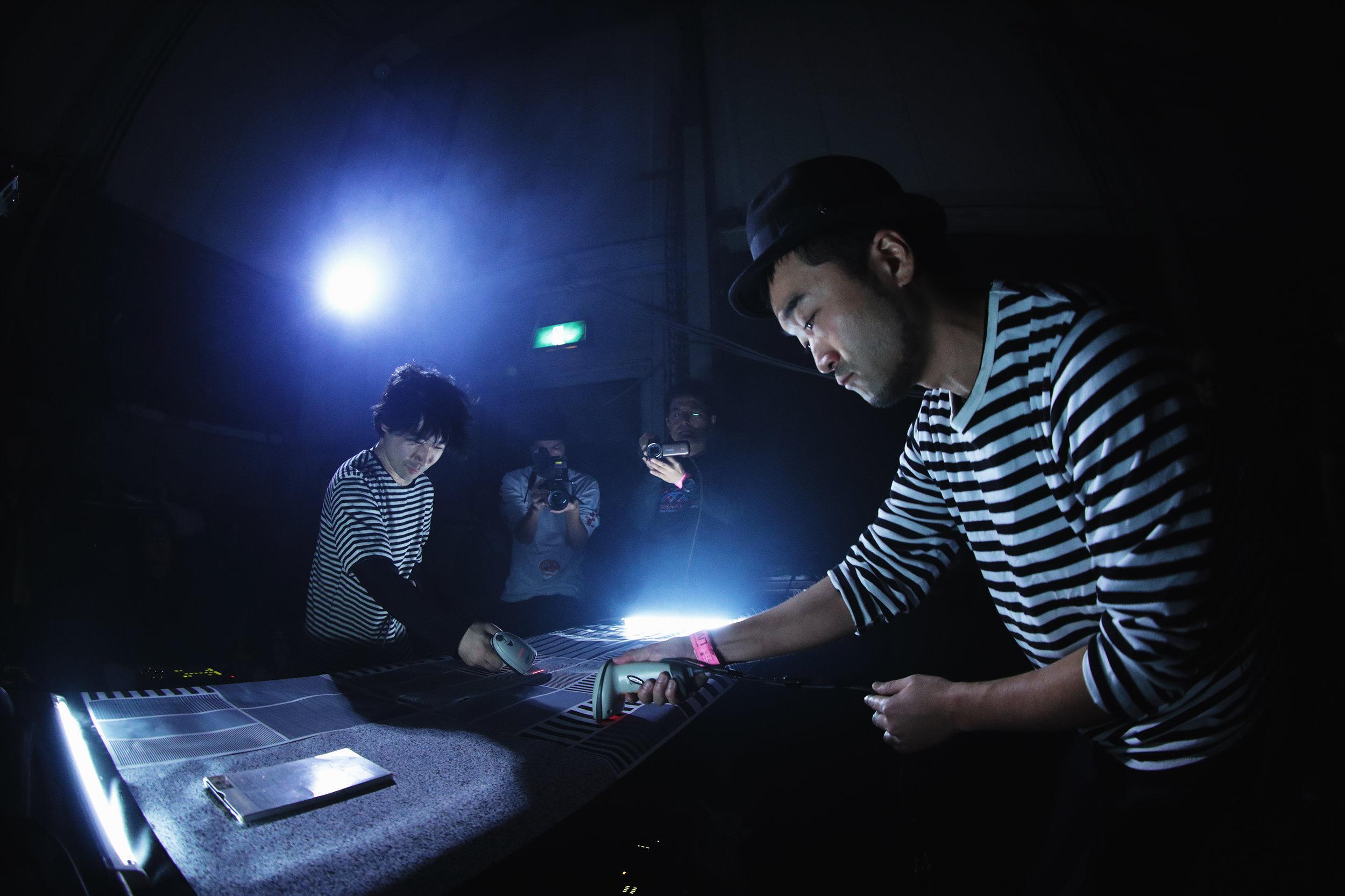 Barcoder Duo in 2018 / Photo by Mao Yamamoto