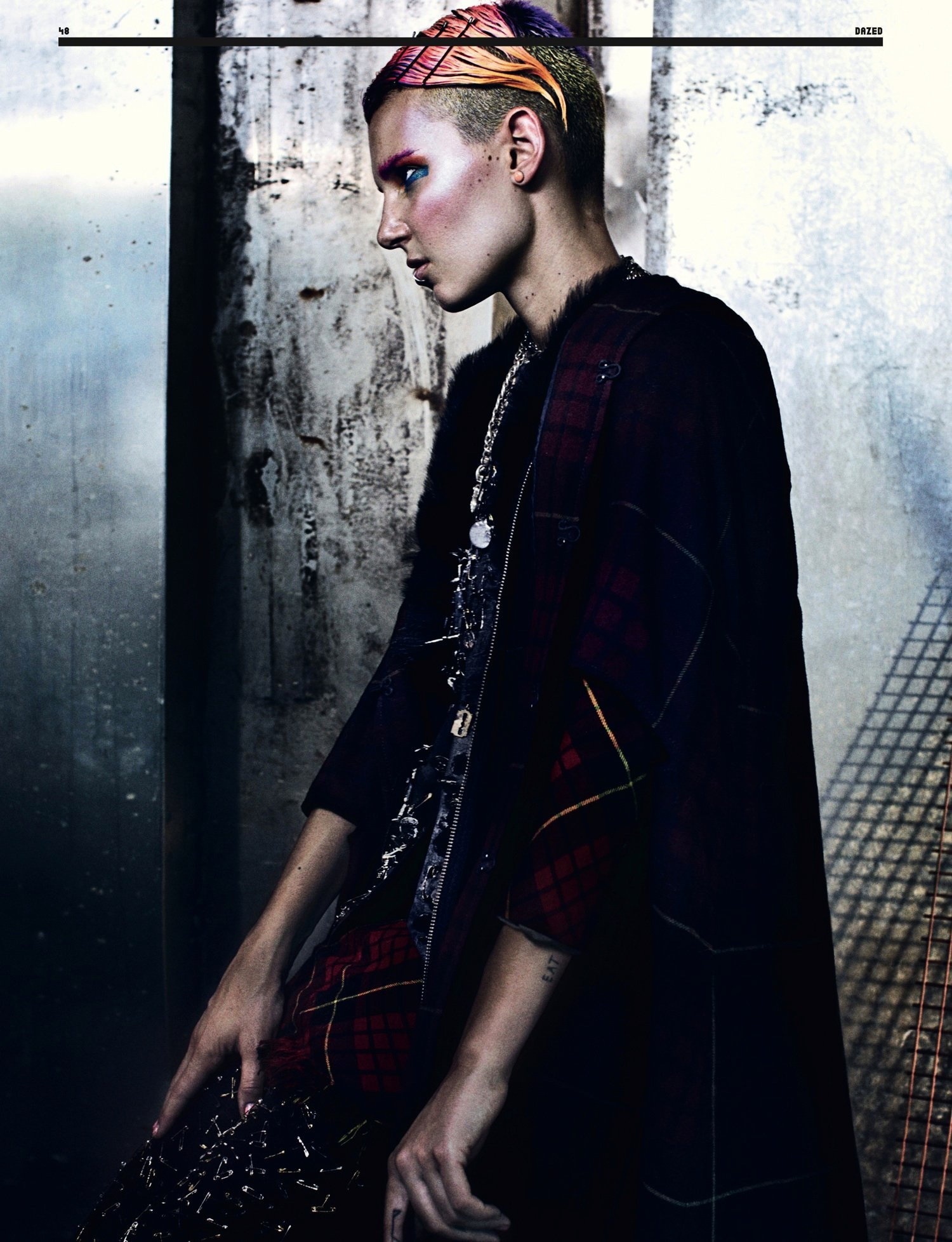 Alexander McQueen - Dazed and Confused magazine