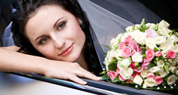 Celebrate your most important day with professional wedding limousine transportation service from Prestige Transportation.