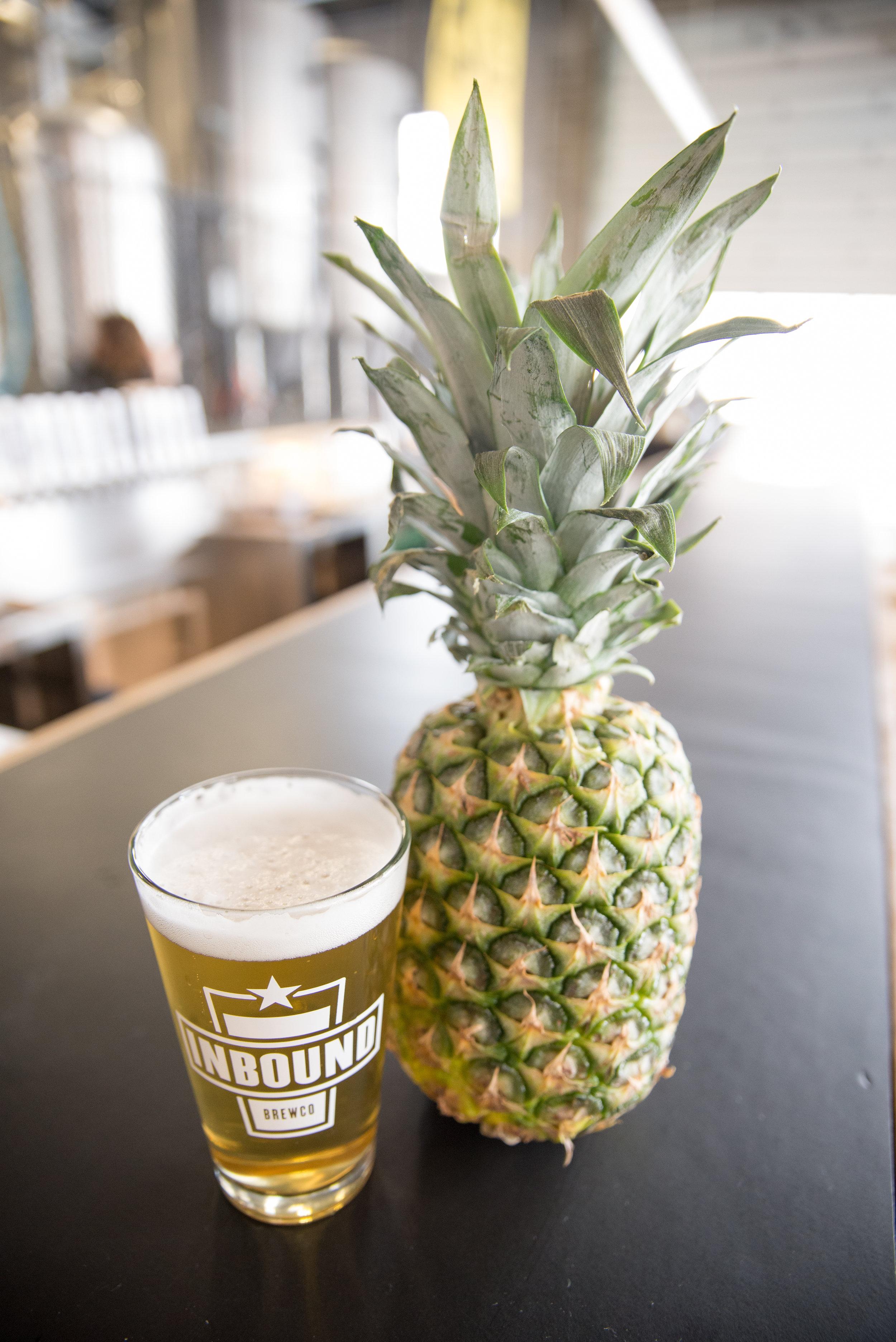 Inbound International Women's Day Beer Pineapple Gose