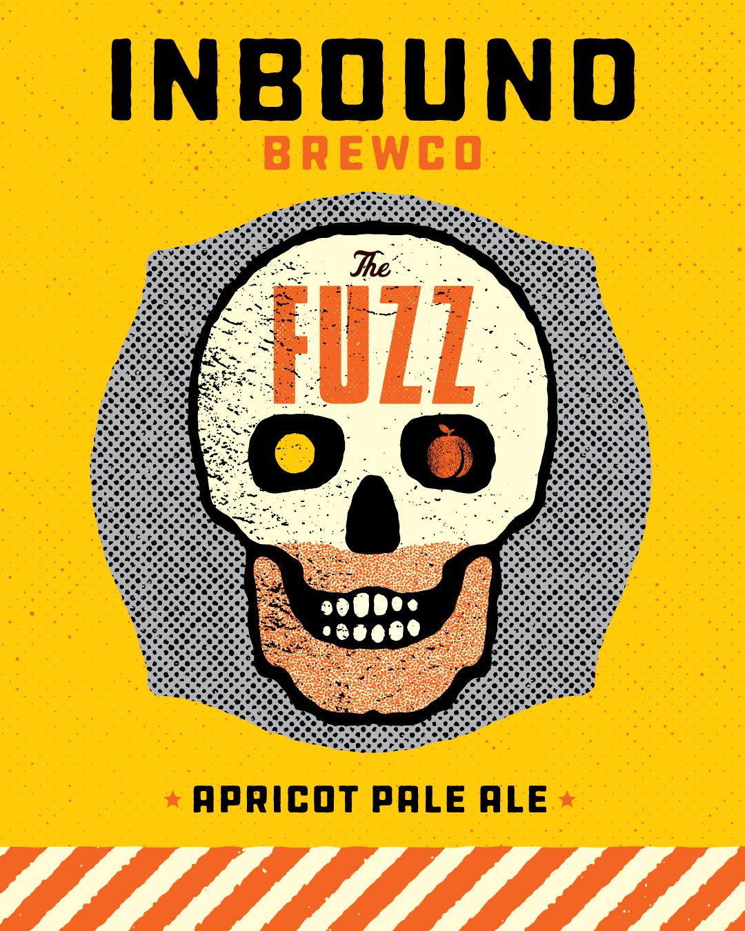 Inbound BrewCo The Fuzz Apricot Pale Ale
