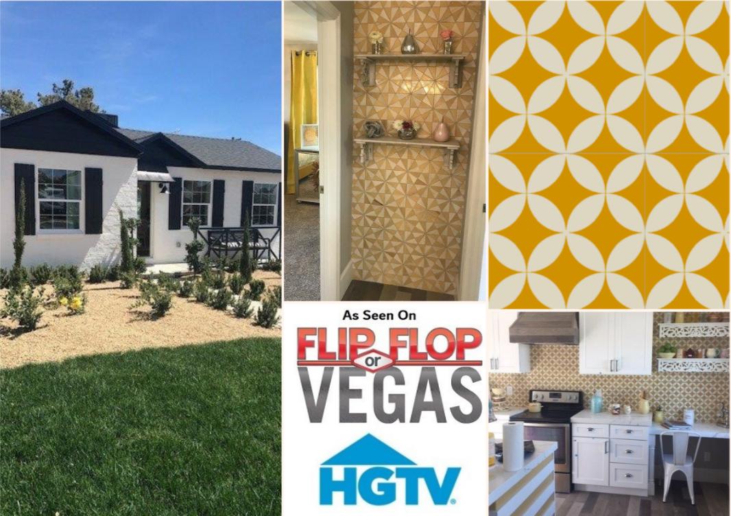 Project: HGTV Flip or Flop Vegas - Designer: Aubrey Marunde