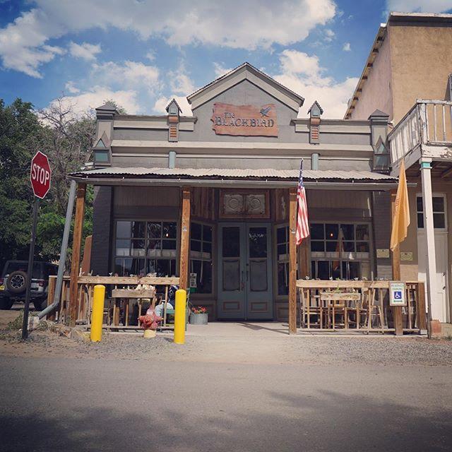 Blackbird Saloon, Cerillos, New Mexico. . . . #saloon #tavern #pub #newmexico #cerillos #cerillosnm #blackbirdsaloon