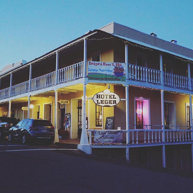 Hotel Leger, est. 1875. Mokelumne Hill, California. . . . #saloon #tavern #pub #bar #mokelumnehill #hotelleger