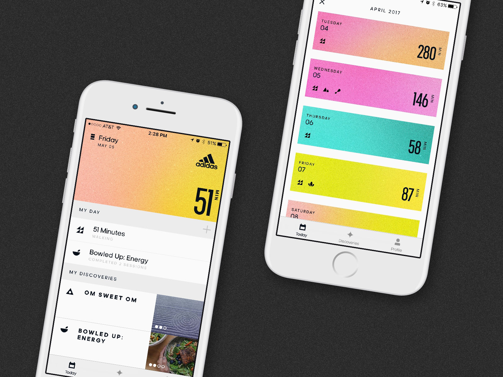 adidas: All Day - Lifestyle Wellness App