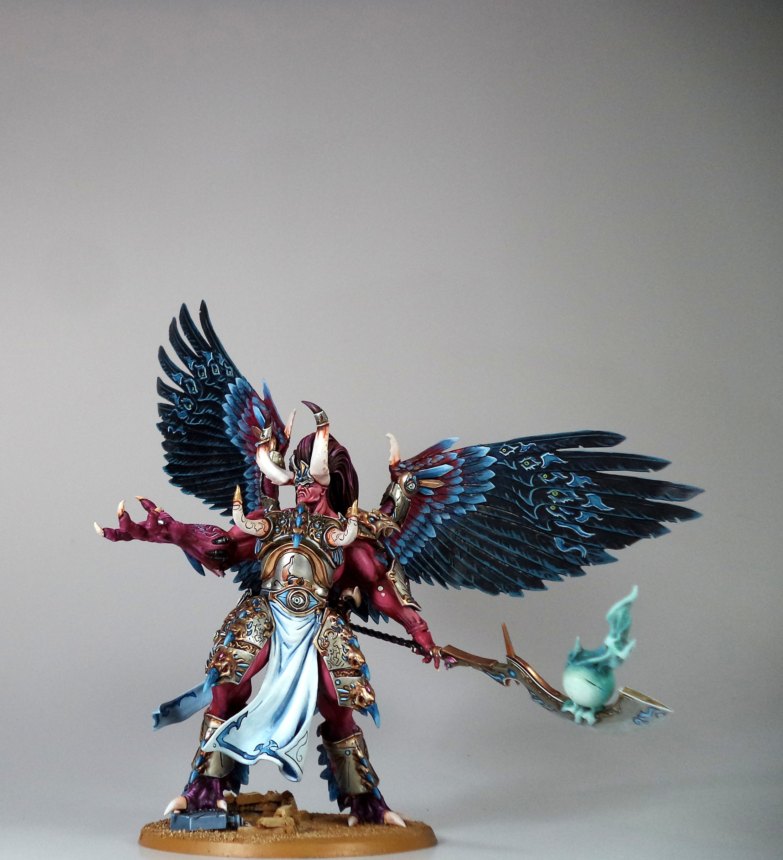 Paintedfigs Miniature Painting Service - Thousand Sons-KM (2).JPG