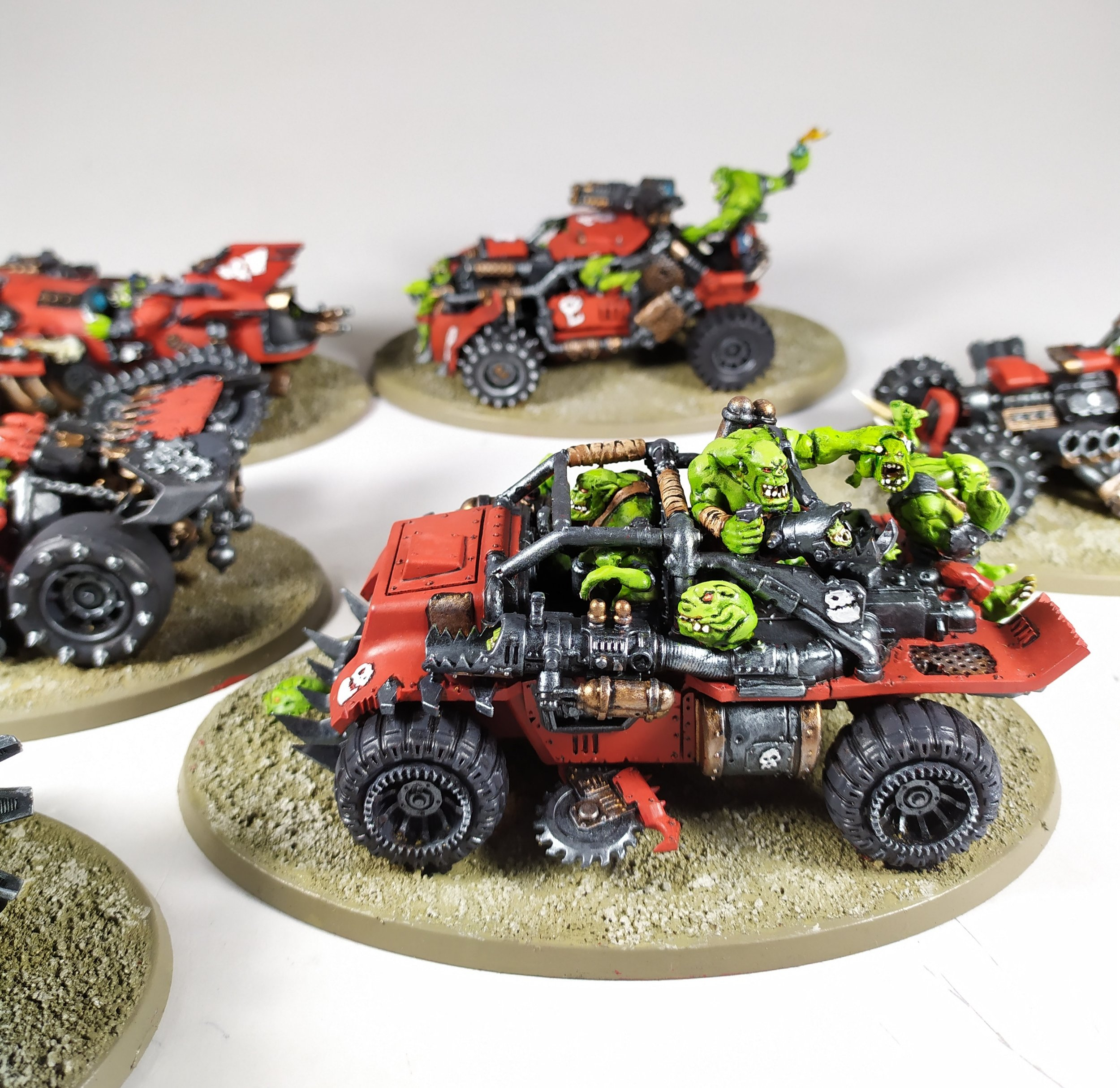 Paintedfigs Miniature Painting Service Space Orks Speed Freeks (3).jpg
