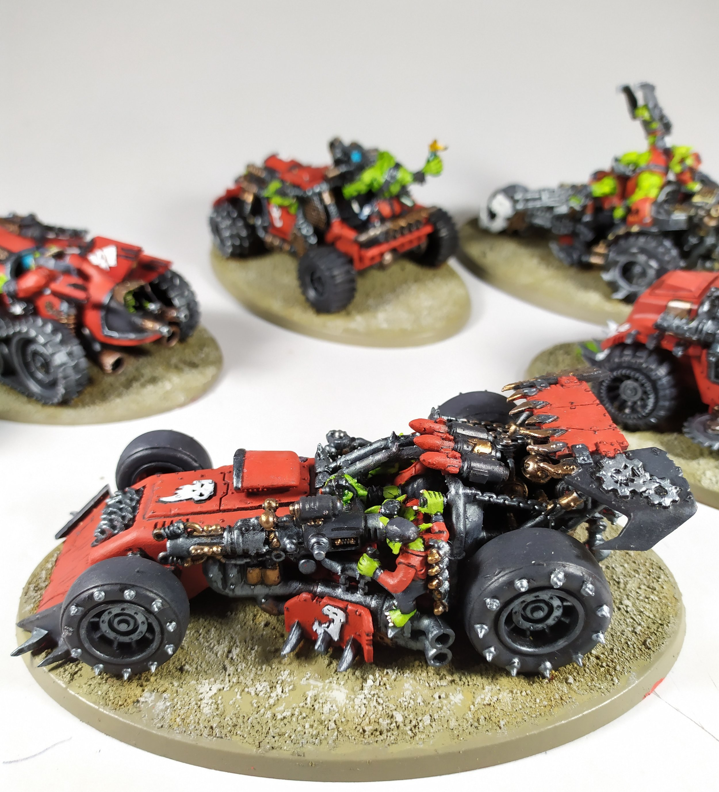 Paintedfigs Miniature Painting Service Space Orks Speed Freeks (4).jpg