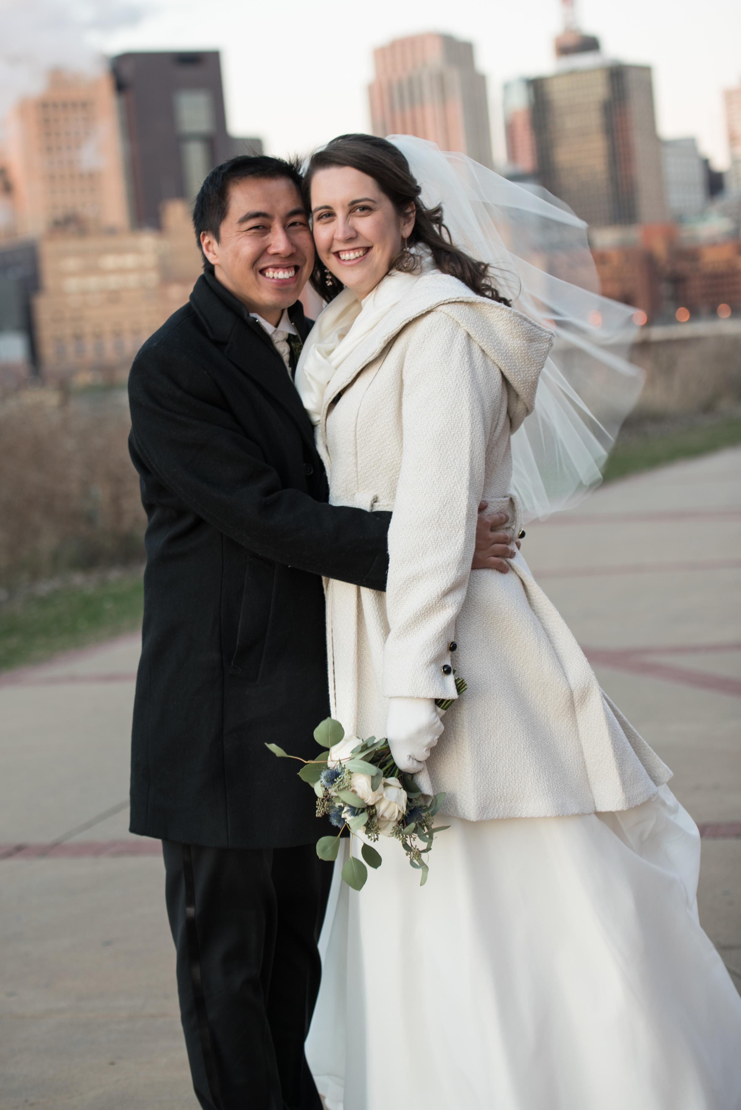 Michelle & David, St. Paul couple