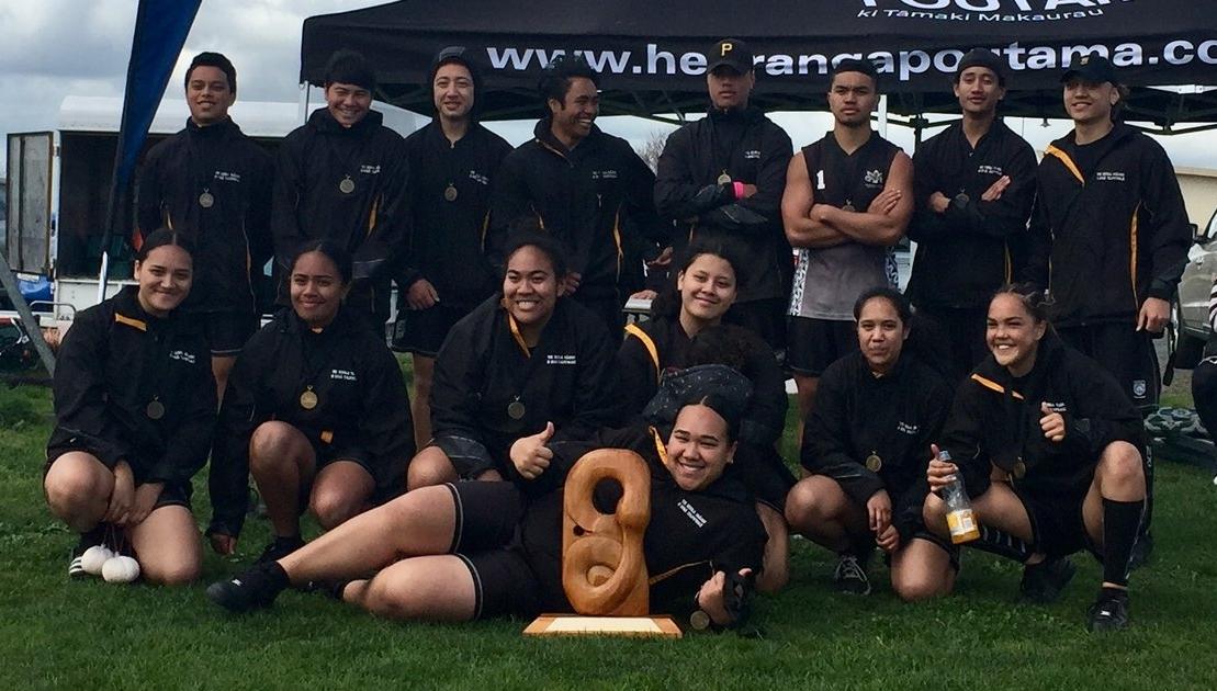 Te Kura Maori o Nga Tapuwae - 2018 Auckland Senior Champions