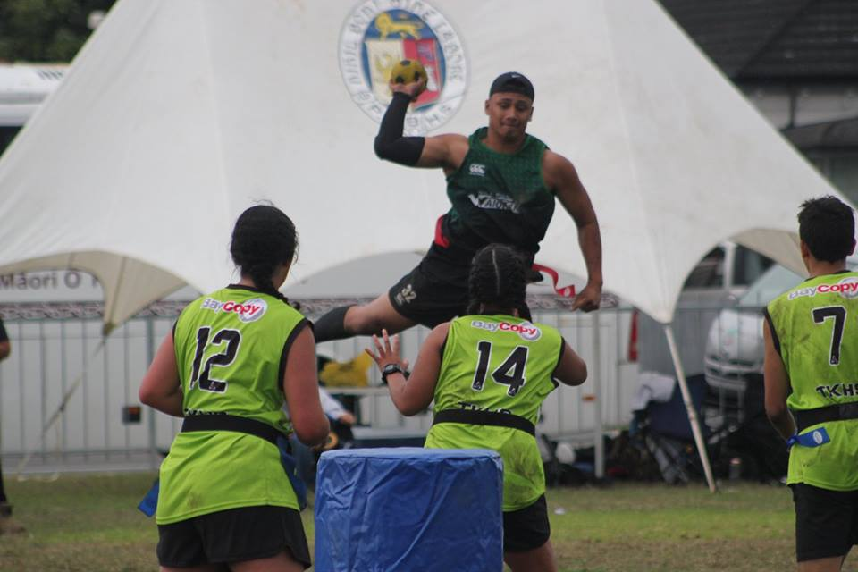 2018 Ki o Rahi Secondary Schools Ki o Rahi Nationals - Jump Shot Waiorea v Te Kuiti
