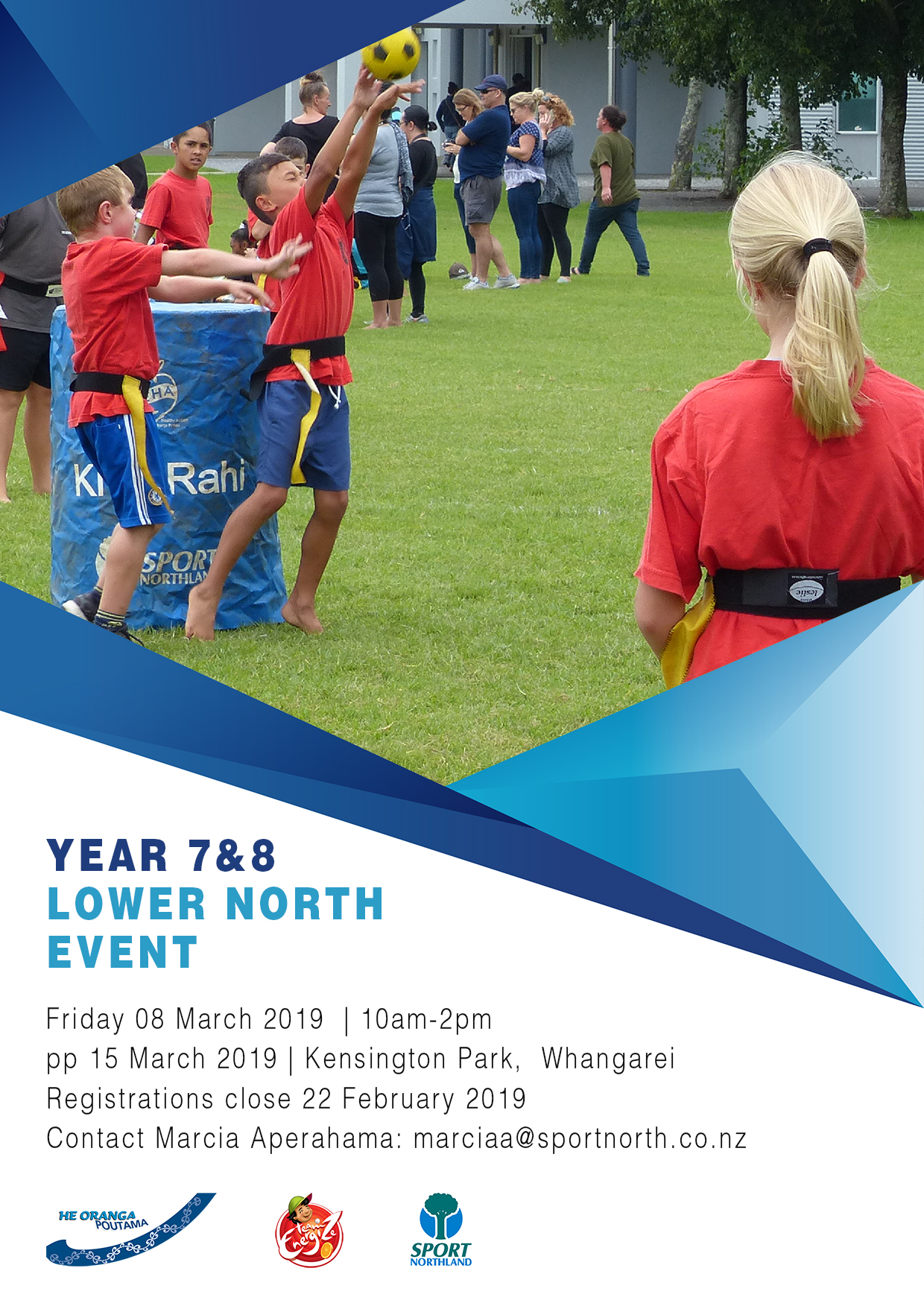 Year 7 & 8 Lower Northland Ki o Rahi Tournament 2019