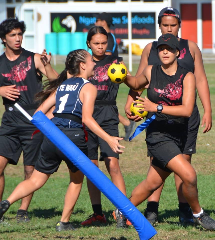 Te Waiu & UAWA - 2018 Secondary School Ki o Rahi Nationals