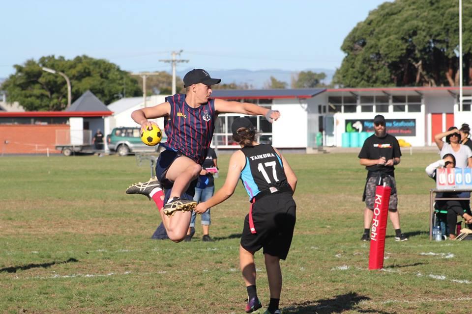 Rotorua Boys and Girls - 2018 Ki o Rahi Secondary School Nationals